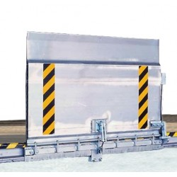 Pasarela de carga SKB-V Waku 1500mm antivuelco
